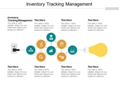 Inventory Tracking Management Ppt PowerPoint Presentation Slides Cpb