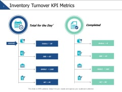 Inventory Turnover Kpi Metrics Ppt PowerPoint Presentation Summary File Formats