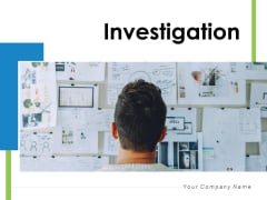 Investigation Cost Analysis Ppt PowerPoint Presentation Complete Deck
