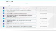 Investigation For Business Procurement Conclusion Ppt Model Graphics PDF