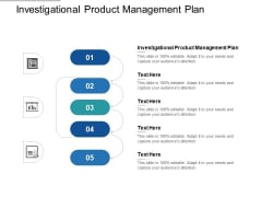 Investigational Product Management Plan Ppt PowerPoint Presentation Model Examples Cpb