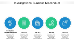 Investigations Business Misconduct Ppt PowerPoint Presentation Model Graphic Images Cpb Pdf