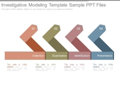 Investigative Modeling Template Sample Ppt Files