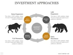 Investment Approaches Ppt PowerPoint Presentation Clipart