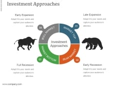 Investment Approaches Ppt PowerPoint Presentation Templates