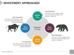 Investment Approaches Template 2 Ppt PowerPoint Presentation Gallery Information
