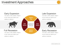 Investment Approaches Template 2 Ppt PowerPoint Presentation Guide