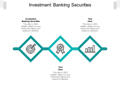 Investment Banking Securities Ppt PowerPoint Presentation Summary Icons Cpb Pdf
