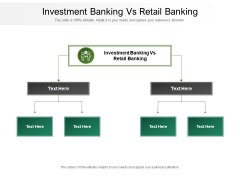 Investment Banking Vs Retail Banking Ppt PowerPoint Presentation Summary Outfit Cpb Pdf