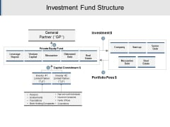 Investment Fund Structure Ppt PowerPoint Presentation Model Summary