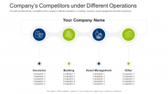 Investment Fundraising Pitch Deck From Stock Market Companys Competitors Under Different Operations Rules PDF