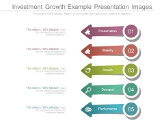 Investment Growth Example Presentation Images