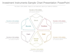 Investment Instruments Sample Chart Presentation Powerpoint