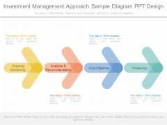 Investment Management Approach Sample Diagram Ppt Design
