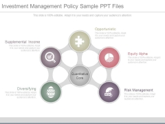 Investment Management Policy Sample Ppt Files