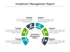 Investment Management Report Ppt PowerPoint Presentation Show Professional Cpb