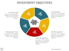 Investment Objectives Ppt PowerPoint Presentation Templates