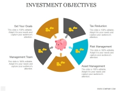 Investment Objectives Ppt PowerPoint Presentation Topics
