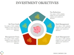 Investment Objectives Template 2 Ppt PowerPoint Presentation Topics