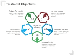 Investment Objectives Templates 1 Ppt PowerPoint Presentation Show