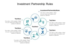 Investment Partnership Rules Ppt PowerPoint Presentation Styles Outline Cpb