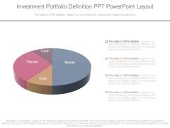 Investment Portfolio Definition Ppt Powerpoint Layout