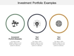 Investment Portfolio Examples Ppt PowerPoint Presentation Introduction Cpb