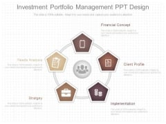 Investment Portfolio Management Ppt Design