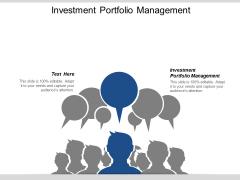 Investment Portfolio Management Ppt PowerPoint Presentation File Files Cpb