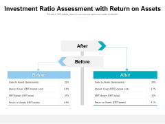 Investment Ratio Assessment With Return On Assets Ppt PowerPoint Presentation Styles Inspiration