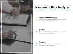 Investment Risk Analytics Ppt PowerPoint Presentation File Background Image Cpb