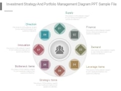 Investment Strategy And Portfolio Management Diagram Ppt Sample File