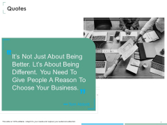 Investment Thesis Of Small Retail Business Quotes Ppt Gallery Template PDF