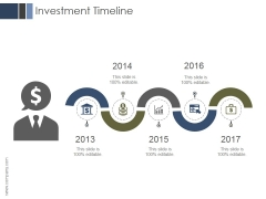 Investment Timeline Ppt PowerPoint Presentation Show