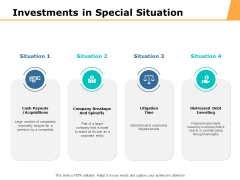 Investments In Special Situation Ppt PowerPoint Presentation Summary Gallery