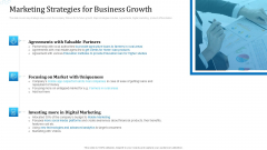 Investor Deck For Procuring Funds From Money Market Marketing Strategies For Business Growth Designs PDF