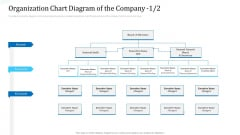 Investor Deck For Procuring Funds From Money Market Organization Chart Diagram Of The Company Icon Elements PDF