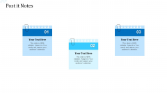 Investor Deck For Procuring Funds From Money Market Post It Notes Icons PDF