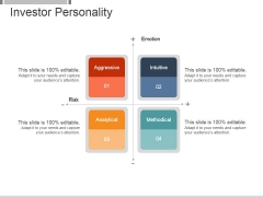 Investor Personality Template 1 Ppt PowerPoint Presentation Inspiration