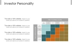Investor Personality Template 2 Ppt PowerPoint Presentation Ideas