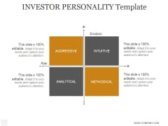 Investor Personality Template Ppt PowerPoint Presentation Example 2015