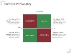 Investor Personality Templates 1 Ppt PowerPoint Presentation Example 2015