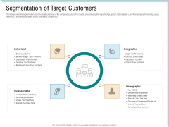 Investor Pitch Deck Collect Capital Financial Market Segmentation Of Target Customers Diagrams PDF