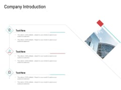 Investor Pitch Deck Collect Funding Spot Market Company Introduction Rules PDF