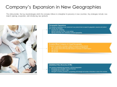 Investor Pitch Deck Post Market Financing Companys Expansion In New Geographies Ideas PDF