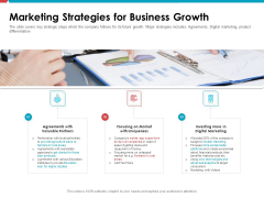 Investor Pitch Deck Public Offering Market Marketing Strategies For Business Growth Designs PDF