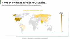 Investors Pitch General Deal Mergers Acquisitions Number Of Offices In Various Countries Sample PDF