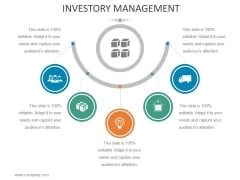 Investory Management Template 1 Ppt PowerPoint Presentation Infographic Template Slide
