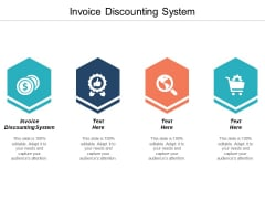 Invoice Discounting System Ppt PowerPoint Presentation Templates Cpb