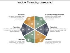 Invoice Financing Unsecured Ppt PowerPoint Presentation Pictures Sample Cpb